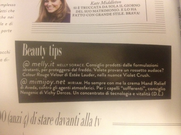 grazia beauty tips