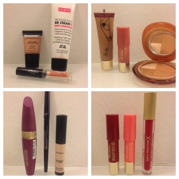 My make-up products summer 2014