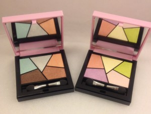 Sporty Chic Graphic Eyeshadow Palette - Pupa A sinistra la 002 Fun Graphic  e a destra la  001 Art Fair