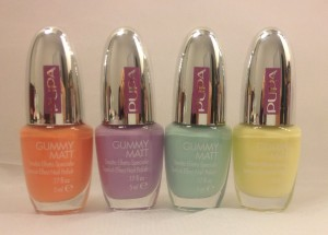 Sporty Chic Gummy Matt nail polish- Pupa