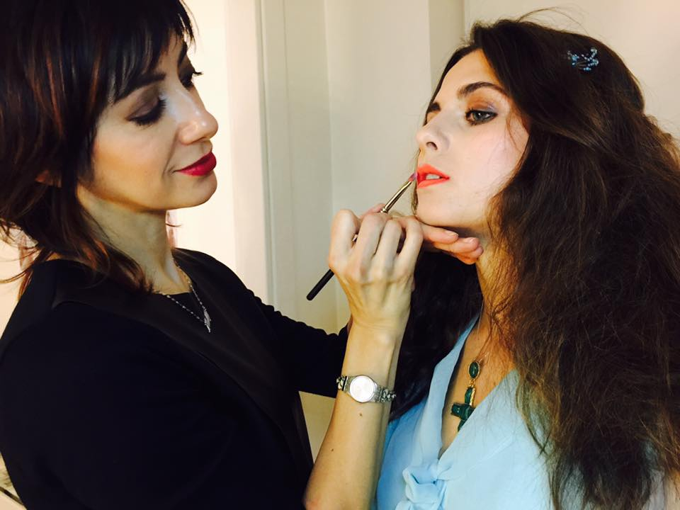 Giulia_backstage moments_focus lips
